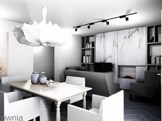 Salon de style  par Projektownia Marzena Dąbrowska