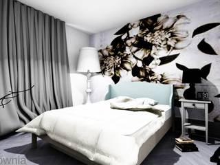 Bedroom by Projektownia Marzena Dąbrowska, Modern
