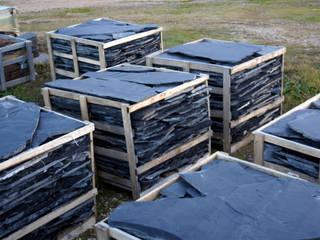 pizarra y tejado Walls & flooringTiles Slate Blue