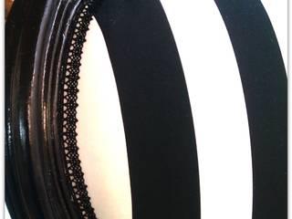 Chaise Rayée par Le chaudron de Pandora Éclectique