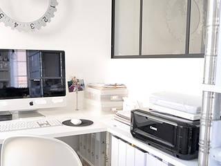 Bureau en appartement par Gris Souris Scandinave