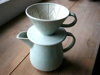 コーヒードリッパー&サーバー(グリーン): taro-coboが手掛けたです。