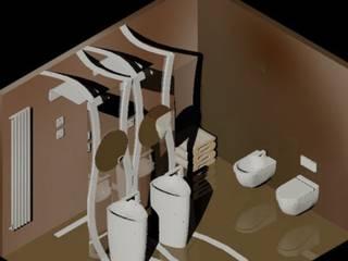 Baño Raiz Baños de estilo minimalista de Piedad Garcia/Interiorismo Estudio Adrac Minimalista