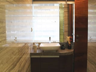 Juhu Residence The design house Modern bathroom