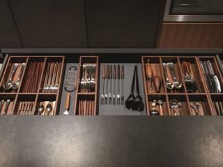 Aménagement de tiroir:  de style  par CUISINE ESSENTIEL