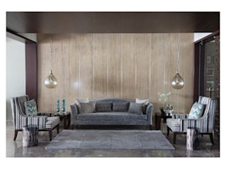 Apartment in Chennai Eclectic style living room by Rakeshh Jeswaani Interior Architects Eclectic