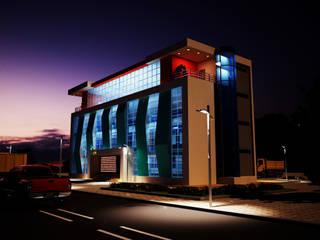 Arslan iç mimarlık – İdari Bina Gece:  tarz Evler