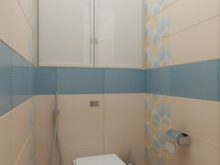 27: Ванные комнаты в . Автор – Первое Дизайн-Бюро