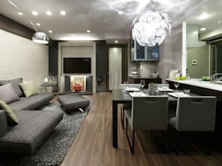 eclectic  by 株式会社Juju INTERIOR DESIGNS, Eclectic