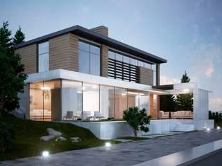 Проект дома в современном стиле Дома в стиле минимализм от Way-Project Architecture & Design Минимализм