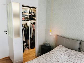 Lise Compain Modern dressing room