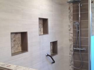 Salle de bains nature Salle de bain rustique par RG Intérieur Rustique