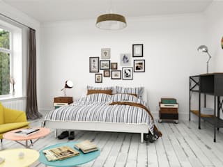 Bedroom by InOutSide Architecture and Design