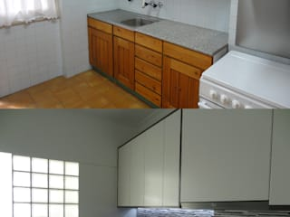 Kitchen by Happy Ideas At Home - Arquitetura e Remodelação de Interiores, Modern