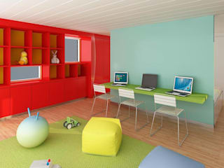 Modern nursery/kids room by unoenseis Estudio Modern