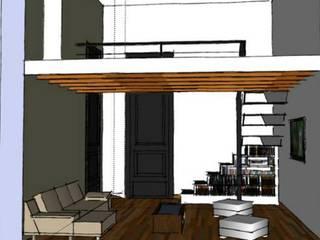 Modern dining room by AUREA Estudio de Diseño Modern