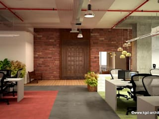 Study/office by Kgd-architecture, Modern
