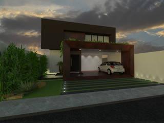 Nhà theo Ricardo Cavichioni Arquitetura,