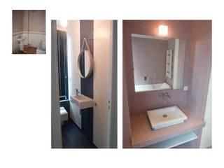 Salle de bain et WC des enfants Salle de bain classique par CAROLINE DUBAU Classique
