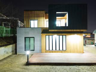 Casas de estilo escandinavo de GongGam Urban Architecture & Construction Escandinavo
