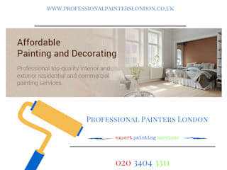 Commercial Painters and Decorators :  Bedroom by Professional Painters London