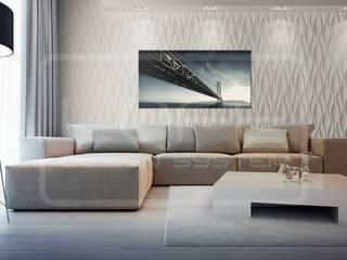 3D Decorative Panel - Loft System Design - model Flow Loft Design System Walls & flooringWall tattoos