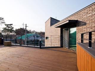 Casas modernas de GongGam Urban Architecture & Construction Moderno