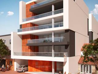 Edificio Belgrano Centro: Casas de estilo  por Mauricio Morra Arquitectos,Moderno