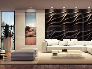 3D Decorative Panel - Loft System Design - model Tide Loft Design System Walls & flooringWall tattoos