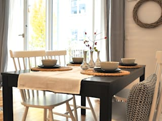 Scandinavian style dining room by Karin Armbrust - Home Staging Scandinavian