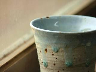 灰釉の器: 陶芸工房ゆうゆうが手掛けた折衷的なです。,オリジナル