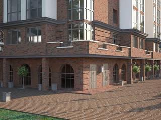 ЖК Арбат (г.Волгоград) Дома в классическом стиле от DS Fresco Классический