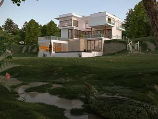 Maisons modernes par Carol Abumrad Arquitetura e Interiores Moderne