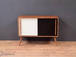 Meuble TV / Enfilade Sideboard Esprit Vintage #4 par LANTIGONE Scandinave