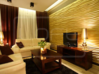 3D Decorative Panel - Loft System Design - model Stream Loft Design System Walls & flooringWall tattoos