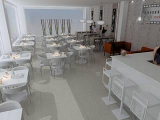 Cafetería :  de estilo  de disenia interiorismo