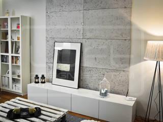 Panele Dekoracyjne 3D - Loft Design System - Loft Concrete od Loft Design System Nowoczesny