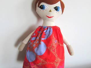 Doudou Poupée Emma en Tissu Piaf et Bidouille Chambre d'enfantsJouets Textile