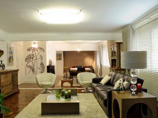 Politi Matteo Arquitetura Ruang Keluarga Gaya Eklektik