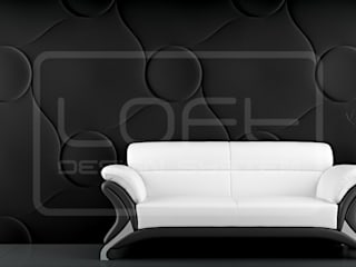 Panele Dekoracyjne 3D - Loft Design System - model Qualited: styl , w kategorii  zaprojektowany przez Loft Design System