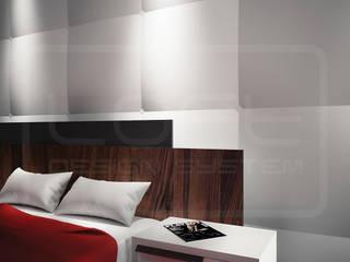Panele Dekoracyjne 3D - Loft Design System - model Cushion: styl , w kategorii  zaprojektowany przez Loft Design System