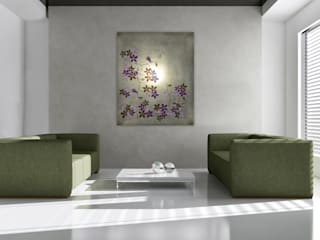"""""""Champagne Flowers"""" : modern  von Mastroprimiano ,Modern"""