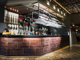 Food Exploration Destination (FeD) - Cardiff Modern bars & clubs by Lighting Design Studio Modern