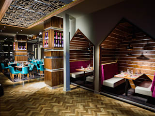 Food Exploration Destination (FeD) - Cardiff Ruang Komersial Modern Oleh Lighting Design Studio Modern