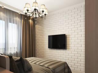 """Визуализация проекта """"Оттенки карамели"""" Спальня в стиле модерн от Alyona Musina Модерн"""
