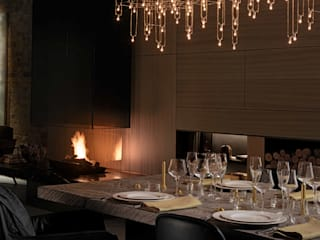 Poggenpohl Modern gastronomy by Lighting Design Studio Modern