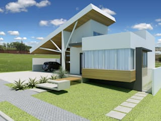 Modern houses by shileon Arquitetura Modern