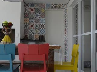 Apartamento Aclimação.: Terraços  por MEM Arquitetura