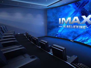 Умный дом - домашний кинотеатр, кинозал. Медиа комната в классическом стиле от Первая Мультимедийная компания Классический