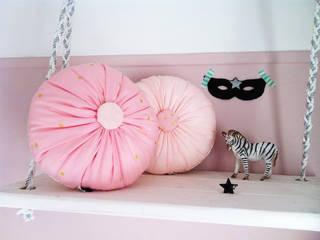 Coussin little macaron confetti: Chambre d'enfants de style  par Patchoulette